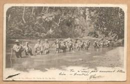 C.P.A Précurseur,1904 Envoyée De BOLIVIE Pour La FRANCE - Vado Del Rio Piquento. Bolivia.- Beaux Timbres Et Oblitération - Bolivia