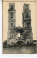 Dpt 62 Mont St Eloi Tours De L'Abbaye Avant La Guerre - Frankreich