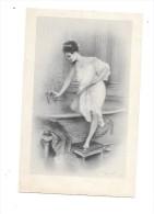 7542 - CPA Illustrateur ROSSI : Jeune Femme Déshabillée Prenant Son Bain - Mujeres