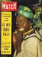 """Paris Match 1951 - N°94 - Raymond Cartier Vous Prédit """"Ce Que Sera 1951"""" - Reportage L'Afrique Noire Du Demi-siècle - General Issues"""
