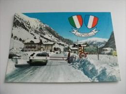 DOGANA CONFINE ITALO FRANCESE GRAND HOTEL CLAVIERES RISTORANTE AUTO CAR CITROEN TAXI CLAVIERE TORINO - Dogana