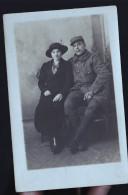 SOLDAT DU 72 EME PARSI PHOTO DE FRANCO ANGLAISE RUE DU TEMPLE - Cartes Postales