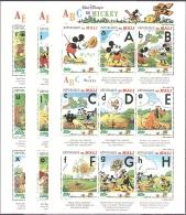 WALT DISNEY MiNr. 1622 - 1648  Mali Alphabetisierung MNH / ** / POSTFRISCH - Disney