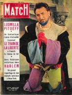 "Paris Match 1951 - N°132 - Pierre Brasseur Dans ""Barbe-Bleue"" - Ludmina Pitoëff - Harlem - General Issues"