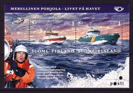 2012 finlande neuf ** bloc n� 63 norden : bateau de sauvetage
