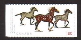 2012 canada neuf ** n� 2684 art : sculpture de joe fafard : cheval : timbre autoadh�sif