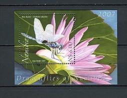 2007 namibie neuf ** bloc n� 70 faune : insecte : libellule