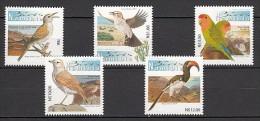 2013 namibie neuf ** n� 1279/83 faune : oiseau : alouette : ins�parable : calao : ammomane de gray