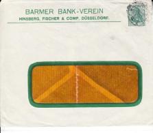 DEUTSCHLAND 1900´s. PRIVAT GANZSACHE  BARMER BANK-VEREIN.DÜSSELDORF.GEBRAUCHT.CN3218 - Enteros Postales