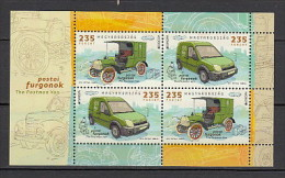 2013 hongrie neuf ** bloc n� 342 europa : v�hicule postaux : voiture