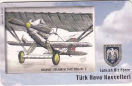 TURKEY(chip) - Airplane, Nieuport-Delage NL D-62 1926-30 2(50 Units), Used - Avions