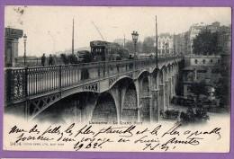 Suisse Lausanne LE GRAND PONT 1902 - Autres