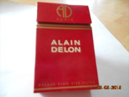 ETUI A CIGARETTES VIDE  Alain Delon - Empty Cigarettes Boxes