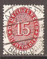 DR 1927 // Mi. 118 X O (029..215) - Service