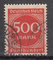 Deutsches Reich - Mi. 272 (o) - Oblitérés