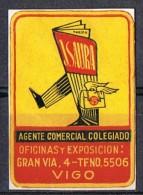 Viñeta Agentes Colegiados De VIGO (Pontevedra). J. Saura - Variedades & Curiosidades