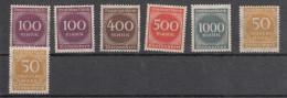 Deutsches Reich - Mi. 268-271-272-273-275 ** - Germany