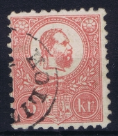 Hungary Hongrie: 1871 Mi Nr 3 A  Used Obl.  Signed/ Signé/signiert/ Approvato - Hungary