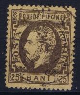 Romania : 1872 Mi Nr 34   Used - 1858-1880 Fürstentum Moldau