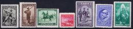 Romania : 1931 Mi Nr 406 - 412  MH/* - 1918-1948 Ferdinand, Charles II & Michael