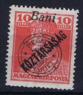 Romania Transylvania :  Mi Nr 61 MH/*  Signed/ Signé/signiert/ Approvato - Transylvanie