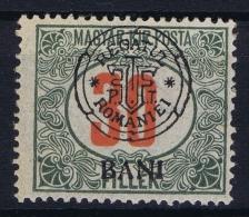 Romania Transylvania :  Mi Porto Nr 10 I MH/*  Signed/ Signé/signiert/ Approvato - Transylvanie