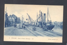SEINE MARITIME 76 FECAMP Quai Et Bassin Bérigny - Fécamp