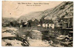 Espagne / LES. Valle De Aran -- Puente Sobre El Garona - Pont Sur La Garonne. - Lérida