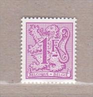 1977 Nr 1850P6a** ZONDER SCHARNIER.CIJFER OP HERALDIEKE LEEUW,Epacar Papier. - Unused Stamps