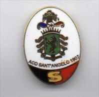 Pq1 A.C.D. Sant'Angelo Lodigiano Calcio Distintivi FootBall Pins Soccer Pin Spilla Italy Lodi - Calcio