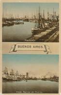BUENOS AIRES - 1928 , Hafen