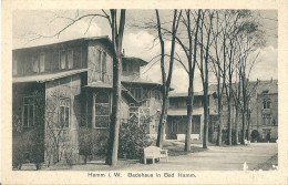 HAMM  I W  -    Badehaus   In Bad   Hamm - Hamm
