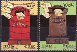 REPUBBLICA 2008 - EUROPA LA LETTERA - SERIE COMPLETA USATA - PRIMA SCELTA - 2001-10: Usati