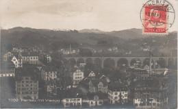 AK Appenzell Herisau Eisenbahn Viadukt Der B T B Bahn Zug Brücke Fabrik Villen Haus - AR Appenzell Rhodes-Extérieures