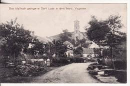 LUSSE (Vosges) Centre Du Village - Eglise-Feldpost - Stempel Batterie 3 Bay. 2 Fuss. Art. Regiment  VOIR 2 SCANS - Autres Communes