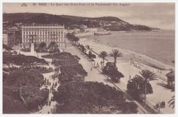 A SAISIR !!!! NICE. Le Quai Des Etats Unis Et La Promenade Des Anglais - Nice