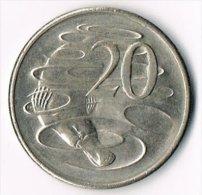 Australia 1981 20c - Decimal Coinage (1966-...)