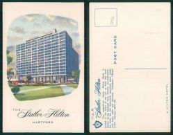 USA -  [OF #12944] - Statler Hilton Hotel Hartford Connecticut - Hartford