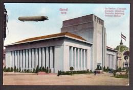 BE449) Ghent/Gand 1913 Exposition - La Section Allemande - Gent