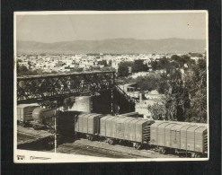 Pakistan Old City Railway Rawalpindi  Black & White Photographs Photo - Photographs