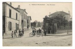SEINE  /  NEUILLY-PLAISANCE  /  RUE  PARMENTIER  ( Enfants Et Vélos ) /  Edit.  E. LE DELEY  ( ELD )  N° 32 - Neuilly Plaisance