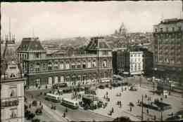 Bruxelles : Gare Du Nordavant Sa Démolition - Ancètres Autobus - Unclassified