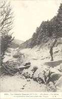 GUERRE 1914 - 1915 -   En Alsace, Un Skieur En Exploration Dans Une Vallée Des Vosges - ENCH -   - - Guerre 1914-18