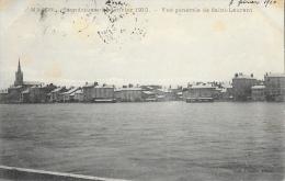 Macon - Inondations De Janvier 1910 - Vue Générale De Saint-Laurent - Collection Prudon - Inondations