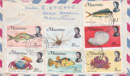 Mauritius  1975 Cover To Australia,marine Life - Mauricio (1968-...)