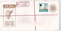 Papua New Guinea 1994 Registered Mail .ship - Papouasie-Nouvelle-Guinée