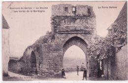Environs De Sarlat - La Douine , Les Bords De La Dordogne - La Porte Delbos-ed. Lacombe - Autres Communes