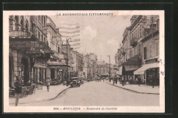CPA Montlucon, Boulevard De Courtais - Montlucon