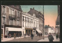 CPA Montlucon, Le Boulevard De Courtais - Montlucon