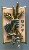 AB-Insigne UNITE FRANCAISE DE VERIFICATION - Militaria